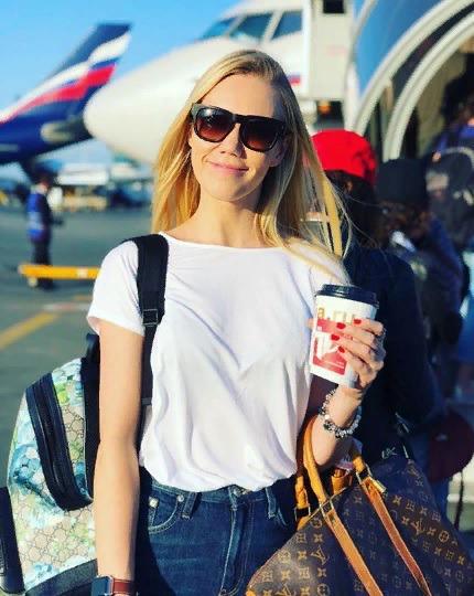 Блоггер Елена Крыгина