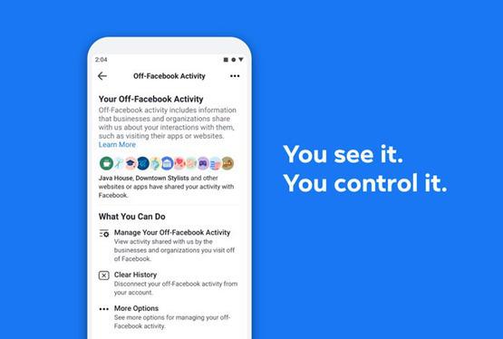 Facebook предоставит пользователям контроль за сбором данных о них