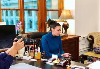 Блоггер Жанна Маргулис