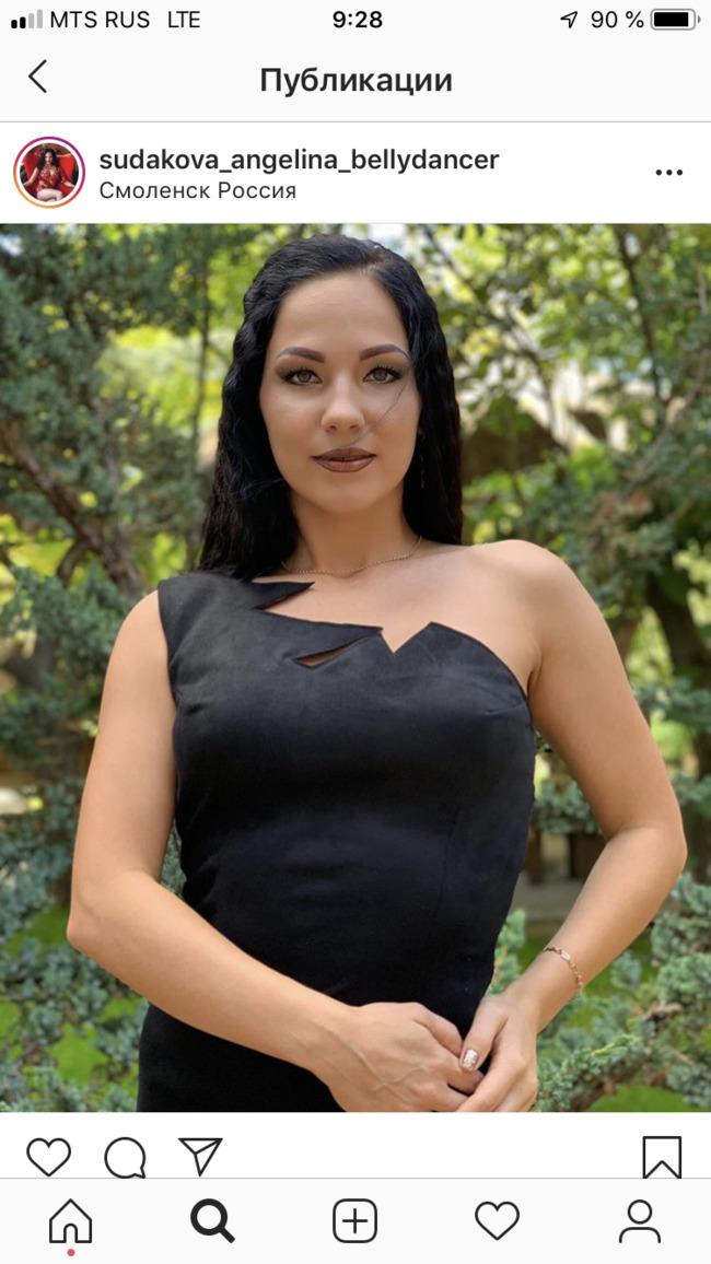 Блоггер Анжелина Судакова