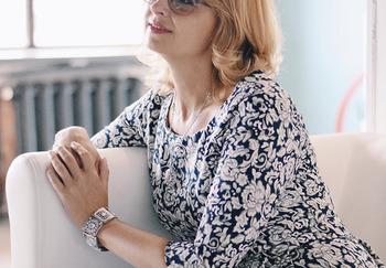 Блоггер Оксана Сахранова