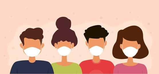 Facebook, Instagram, Twitter напоминают про маски