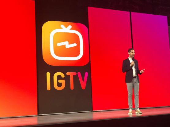 Реклама в длинных видео  в IGTV