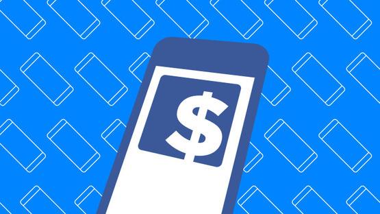 Рост рекламной выручки в  Facebook