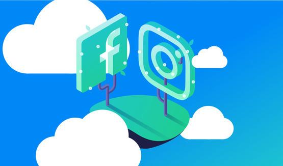 Instagram сторисы через Facebook