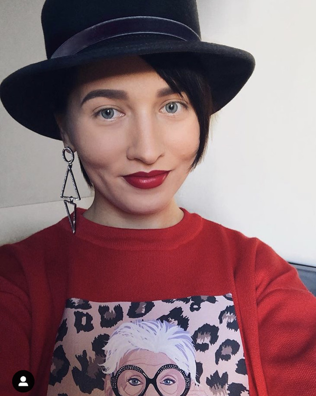 Блогер Марина Щеняева