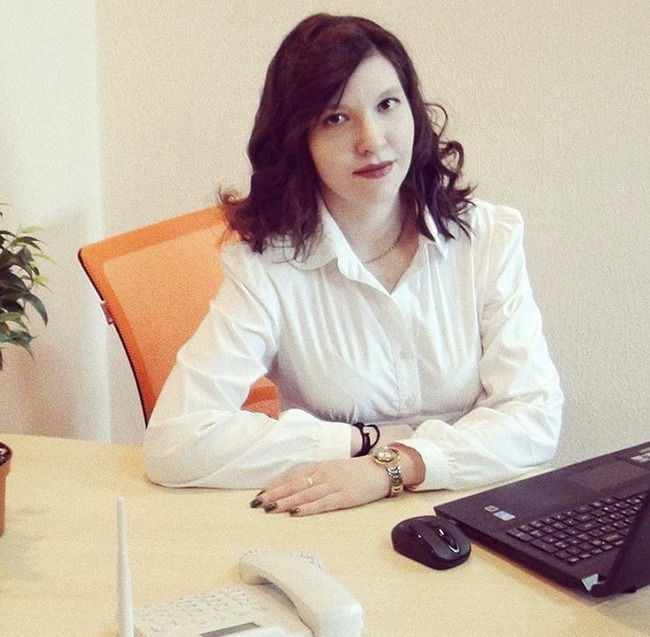 Блогер Дарья Владимировна