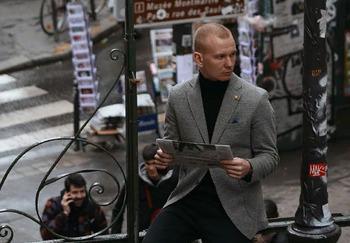 Блогер Михаил Брычев