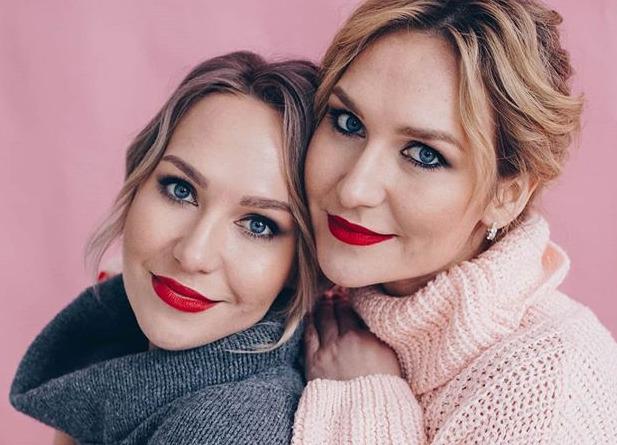 Блогер Катя и Соня twinsformer