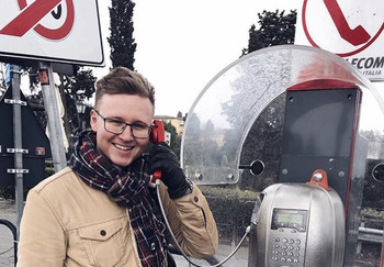 Блогер Антон Щукарев