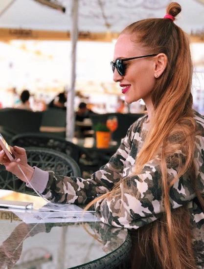 Блогер Виолетта Петухова