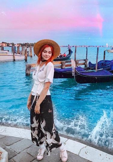 Блогер Аксиния Кириенко