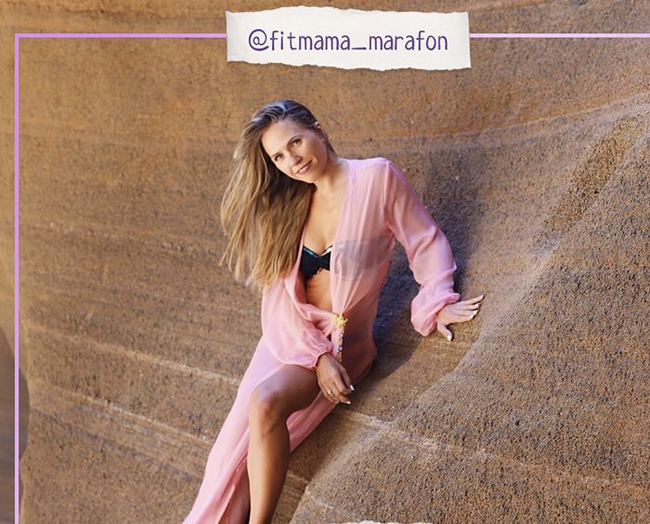 Блогер Анастасия fitmama_marafon