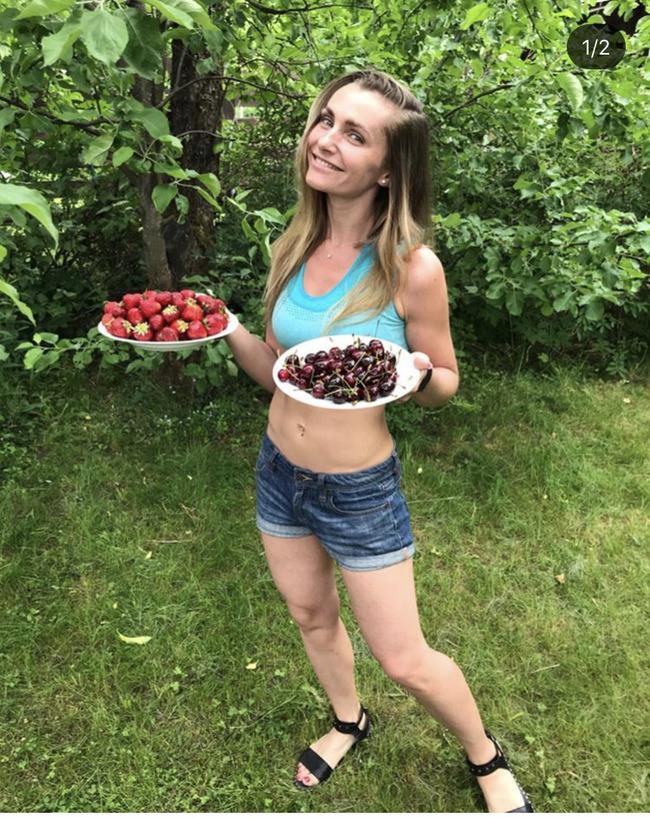 Блогер Виктория Антончук