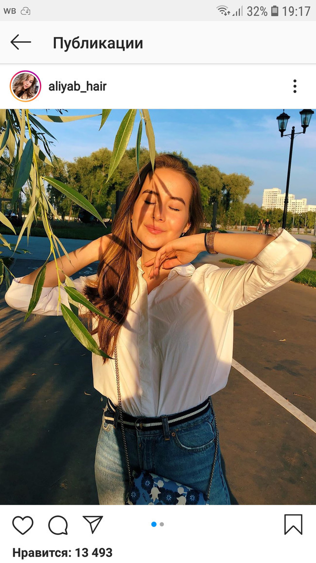 Блогер Алия aliyab_hair