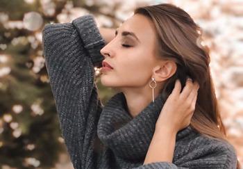 Блогер Настя Меланина