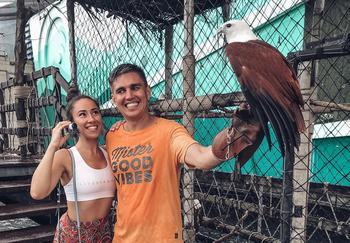 Блогер Андрей и Лера Дмитриевы