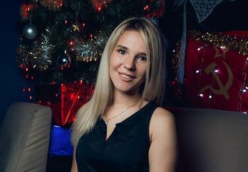 Блогер Маша Блондиша