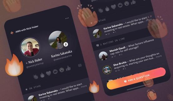 Facebook запускт гибрид Clubhouse и Instagram Live