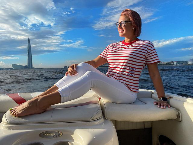 Блогер Ольга Нагорная